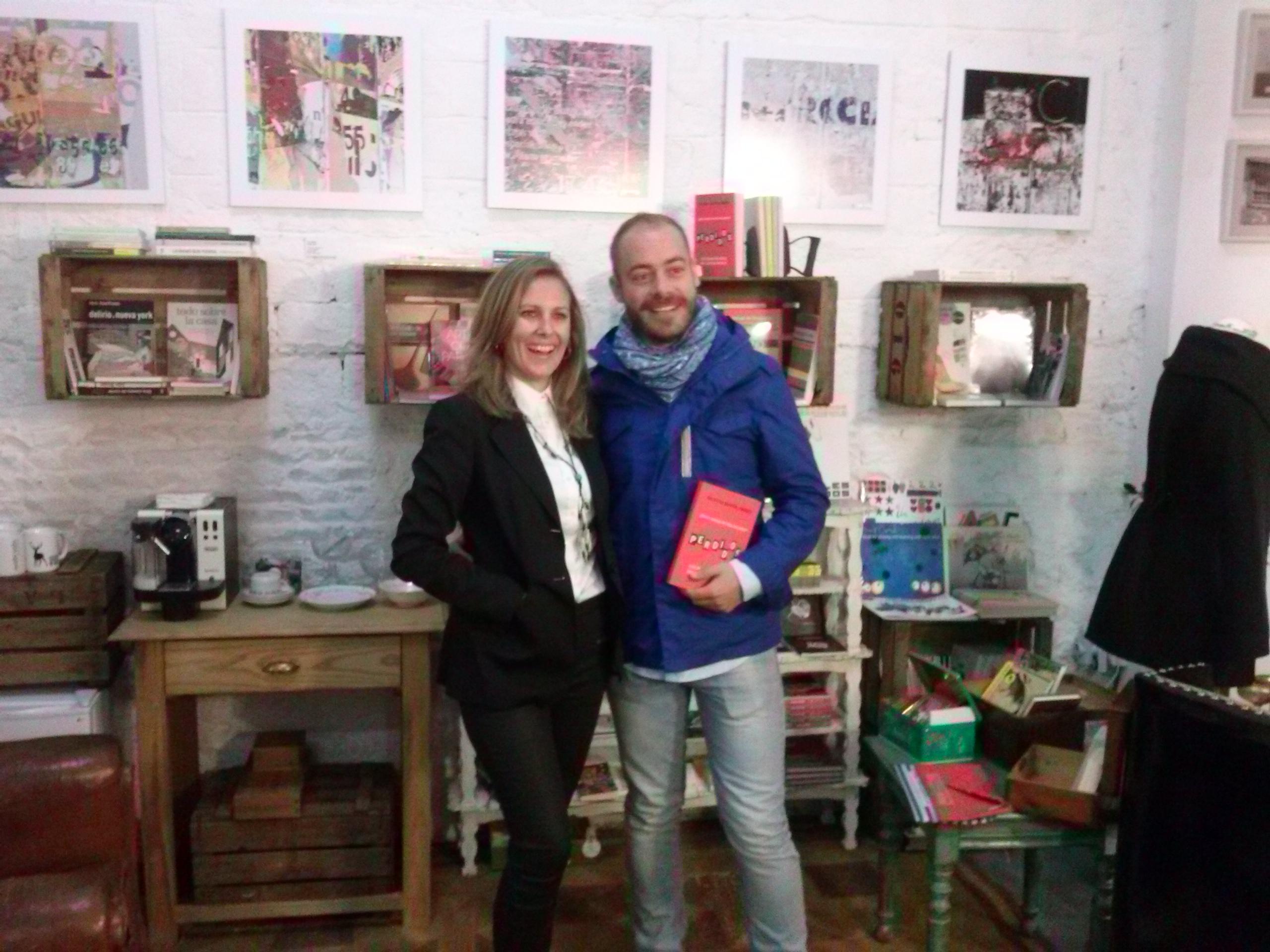 Cristina Martín Jiménez y Juan Benitez con Perdidos