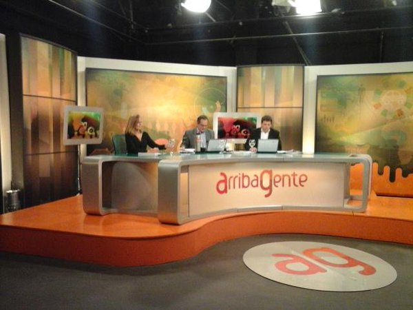 cristina martin jimenez en canal 10 uruguay