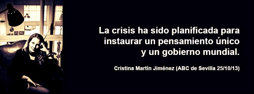 Cristina Martin Jimenez Perdidos Club Bilderberg
