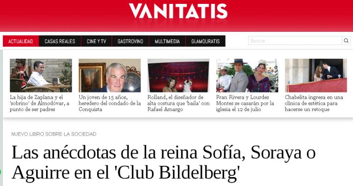 Las anécdotas de la reina Sofía Soraya o Aguirre en el Club Bilderberg