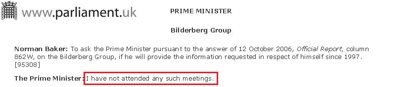 Tony Blair Club Bilderberg Parlamento Británico 2