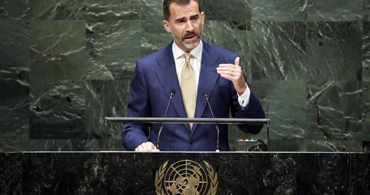 Felipe VI en la ONU
