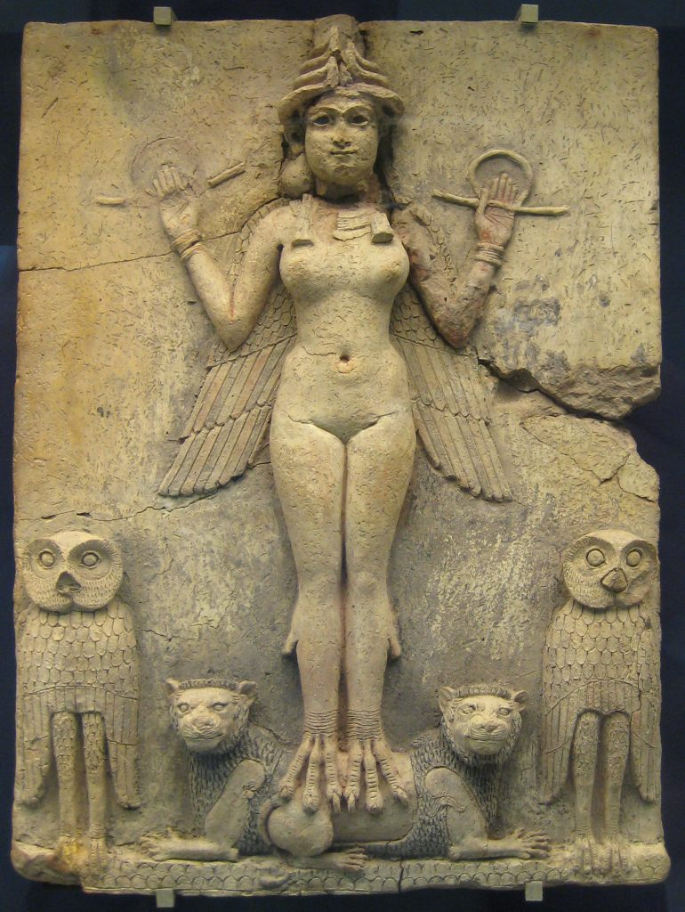 Innana British_Museum_Queen_of_the_Night