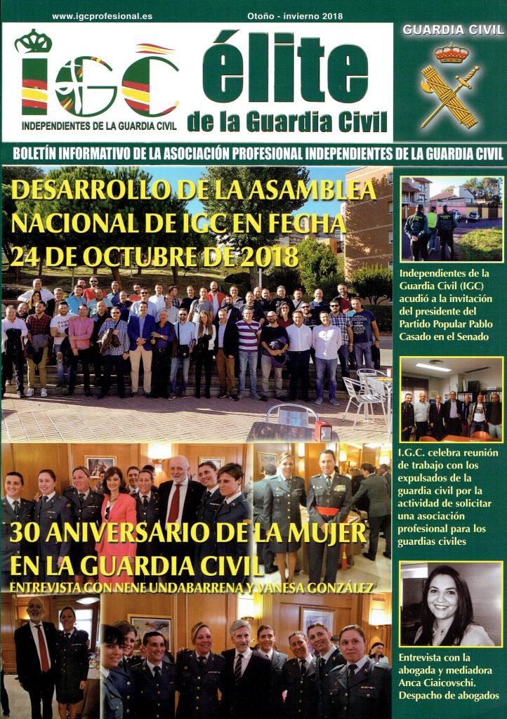 Entrevista para la revista «Élite de la Guardia Civil»