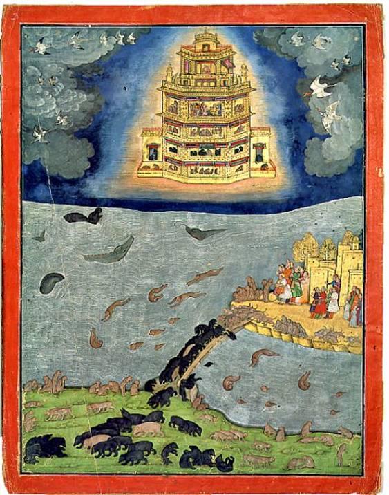 vimanas dinastia lunar india