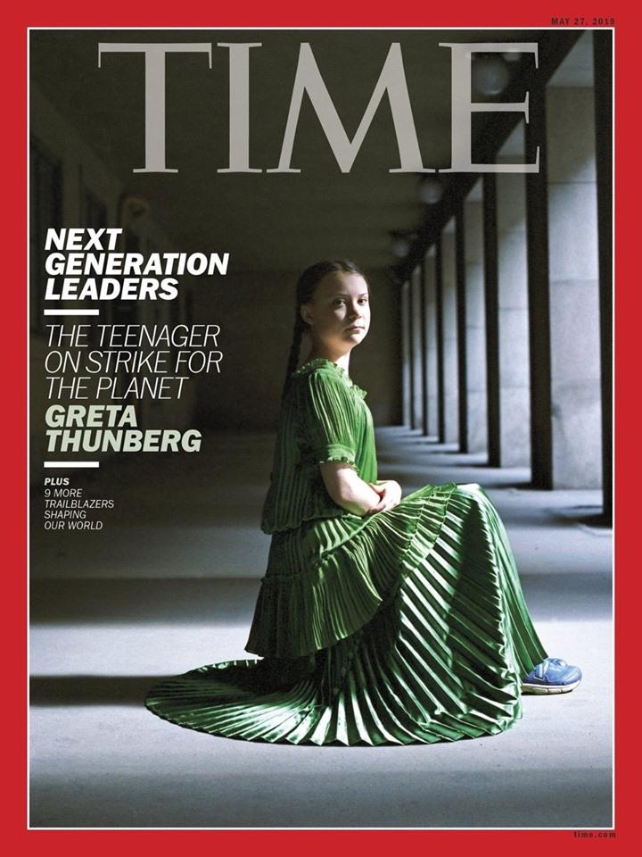 Greta Thunberg Nobel Revista Time