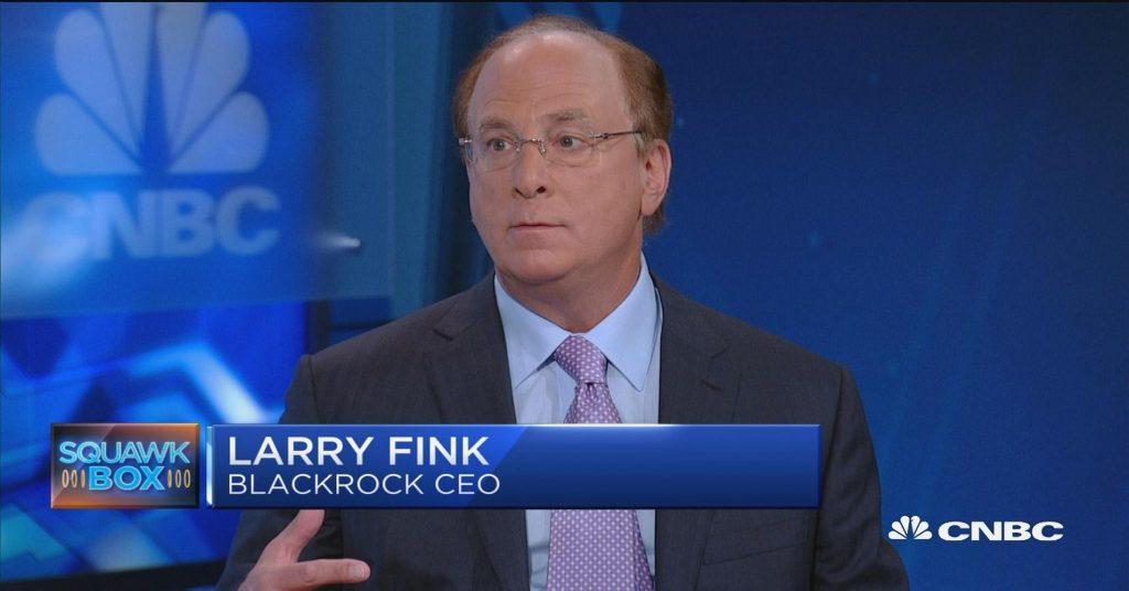 Laurence Fink Blacrock CEO