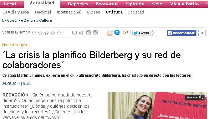 La crisis la planificó Bilderberg y toda su red de colaboradores