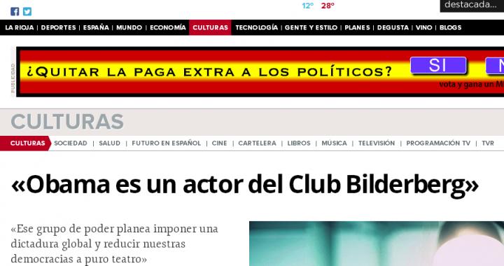 Obama es un actor del Club Bilderberg