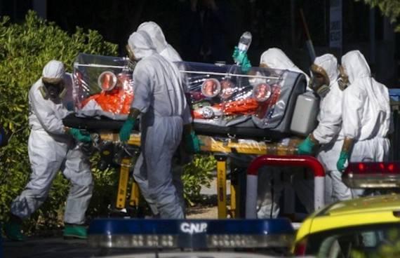 ebola españa